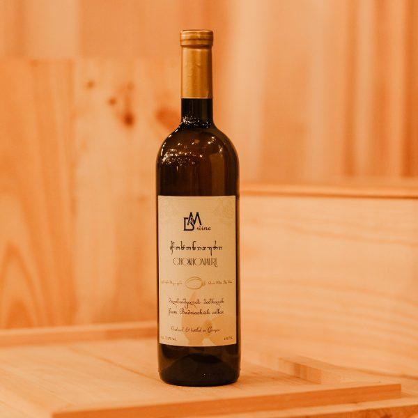 BM wine ბადრიაშვილის მარნიდან